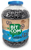 Крендель черный Bitcom с морской солью 1600 г