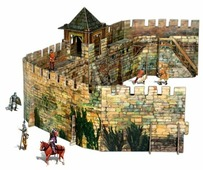 Сборная модель Умная Бумага Крепостная стена (286)