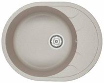 Врезная кухонная мойка Granula 6301 63х50см искусственный гранит