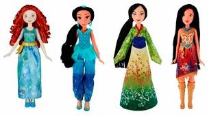 Кукла Hasbro Disney Princess Королевский блеск, 28 см, B6447