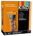 Ореховый батончик Be-Kind Maple Glazed Pecan & Sea Salt, 12 шт