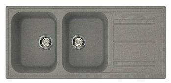 Врезная кухонная мойка smeg LZ116 116х50см искусственный гранит