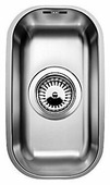 Интегрированная кухонная мойка Blanco Supra 180-U 20.1х36.1см нержавеющая сталь