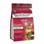 Корм для кошек Arden Grange Adult Cat курица и картофель сухой корм беззерновой, для взрослых кошек