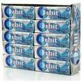 Жевательная резинка Orbit White Освежающая мята, без сахара, 30 шт. по 13,6 г
