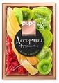 Смесь сухофруктов PUPO Gold Collection фруктовое ассорти №6 дыня, киви, вишня без косточек 230 г
