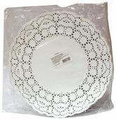 Салфетки Aviora круглые ажурные диаметр 104-061 30 x 30 см