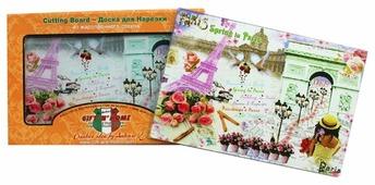 Разделочная доска Gift'n'Home Весна в Париже CB-01-PSpring 20х30х0.4