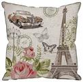 Подушка декоративная Традиция Париж, 40 х 40 см