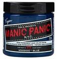 Крем Manic Panic High Voltage Voodoo Blue голубой оттенок