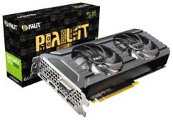 Видеокарта Palit GeForce GTX 1060 1531MHz PCI-E 3.0 6144MB 8000MHz 192 bit DVI HDMI HDCP GamingPro OC