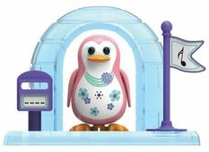 Интерактивная игрушка робот Silverlit DigiPenguins с домиком