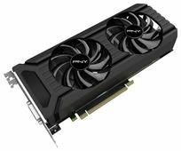 Видеокарта PNY GeForce GTX 1060 1506Mhz PCI-E 3.0 6144Mb 8008Mhz 192 bit DVI HDMI HDCP