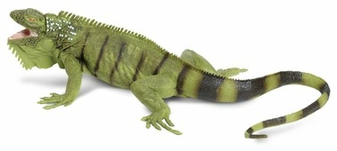 Фигурка Safari Ltd Зеленая игуана 267729
