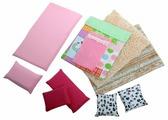 Набор текстиля для интерьера SunnyWoods для кукольного домика Варя