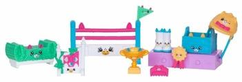 Игровой набор Moose Shopkins Happy Places Конкурс прыжков через барьер для пони 56681