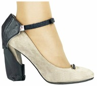 Автопятка Heel Mate для женской обуви c толстым каблуком, натуральная кожа