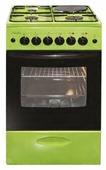 Комбинированная плита Лысьва ЭГ 1/3г01 МС зеленый