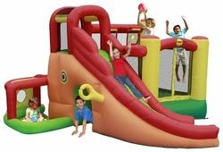 Надувной комплекс Happy Hop Игровой центр 11 в 1 9406N