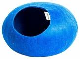 Домик для кошек, для собак Zoobaloo WoolPetHouse L без ушек 40х40х20 см
