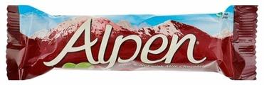 Злаковый батончик Alpen В глазури с изюмом и орехами, 29 г