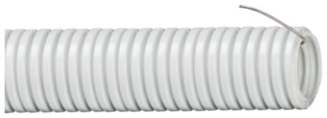 Труба гофрированная ПВХ с зондом IEK 25 мм x 15 м