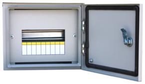 Щит распределительный RUCELF навесной, модулей: 9 ЩРН-9 IP54