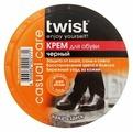 Twist Casual care крем для обуви черный