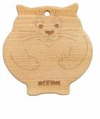 Разделочная доска Gift'n'Home W-Cat 20х20х1,5 см