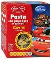 Макаронные изделия Dalla Costa Disney Cars с томатами и шпинатом (с 3-х лет)