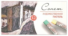 Невская палитра Пастель сухая Сонет 12 цветов (7141223)