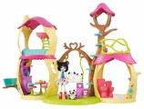 Mattel Кукла с питомцем Набор Лесной замок Enchantimals FNM92
