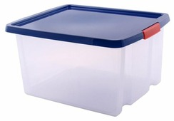 ПОЛИМЕРБЫТ Ящик хозяйственный с фиксаторами 24,5x47x36,5 см