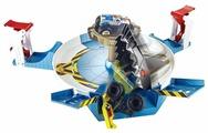 Трек Hot Wheels Monster Trucks Столкновение с механической акулой FYK14