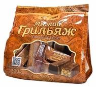 Конфеты Петродиет Мягкий грильяж, пакет
