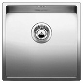 Врезная кухонная мойка Blanco Claron 400-U 44х44см нержавеющая сталь