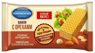 Вафли Коломенское с орехами 200 г