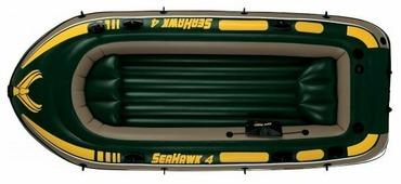 Надувная лодка Intex Seahawk-400 (68350)
