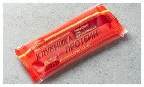Фруктовый батончик ВкусВилл Клубника-протеин, 35 г