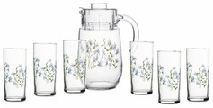 Набор Endura Gazebo кувшин + стаканы 7 предметов