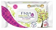 Влажные салфетки FRIA Baby Eco с экстрактом овса и бисабололом