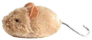 Игрушка для кошек GiGwi Cat Toys Мышка со звуковым чипом (75217)