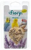 Лакомство для птиц Fiory Hearty в форме сердца с лавандой