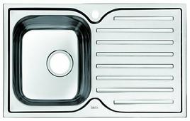 Врезная кухонная мойка IDDIS Strit STR78SLi77 78х48см нержавеющая сталь