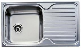 Врезная кухонная мойка TEKA Classic 1B 1D