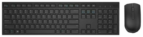 Клавиатура и мышь DELL KM636 Wireless Keyboard and Mouse Black USB