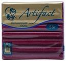Полимерная глина Artifact Glitter вишневая (211), 56 г
