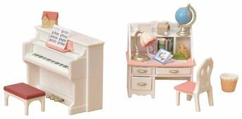 Игровой набор Sylvanian Families Рабочий стол и пианино 5284