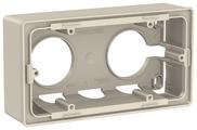 Коробка наружного монтажа Schneider Electric NU800444, бежевый