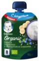 Пюре Gerber Organic Банан, черника с йогуртом и злаками (с 8 месяцев) 90 г, 16 шт.
